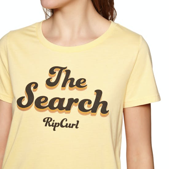 T-Shirt à Manche Courte Femme Rip Curl Keep Searching