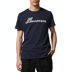 Craghoppers Archive Lowood T Shirt - Blue Navy