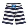 Creme And Navy Stripe