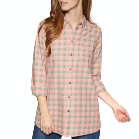 Fjallraven High Coast Flannel Womens Shirt - Lily Fog