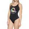 Superdry Ombre Scoop Womens Swimsuit - Black