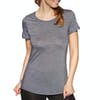 T-Shirt à Manche Courte Femme Icebreaker Sphere Low Crewe - Panther Snow Stripe