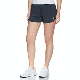 Icebreaker Impulse Womens Running Shorts - Panther Ember