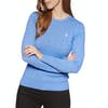 Jack Wills Tinsbury Classic Cable Crew Womens Knits - Blue