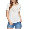 Roxy Chasing The Swell Womens Short Sleeve T-Shirt - Marshmallow