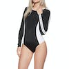 Roxy ROXY Fitness Long Sleeve UPF 50 Damen Badeanzug - True Black