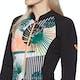 Roxy 1mm POP Surf Long-Sleeve Front-Zip Bikini-Cut Shorty Womens Wetsuit