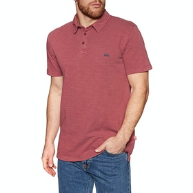 Quiksilver Everyday Sun Polo Shirt - Brick Red