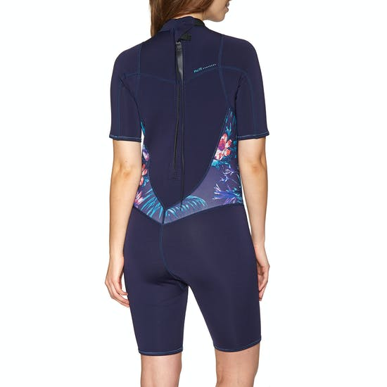 Roxy 2/2mm Syncro Back-Zip Shorty Womens Wetsuit