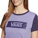 Vans V Tangle Range Ringer Damen Kurzarm-T-Shirt