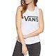 Camiseta sin mangas Mujer Vans Flying V Muscle Scoop