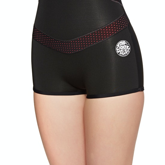 Rip Curl Madi 1mm Long Sleeve Boyleg Shorty Womens Wetsuit