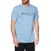 RVCA Big Short Sleeve T-Shirt - Ether Blue