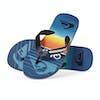 Quiksilver Molokai Highline Slab Sandals - Black Blue Blue