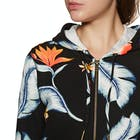 Roxy Trippin Printed Ladies Zip Hoody