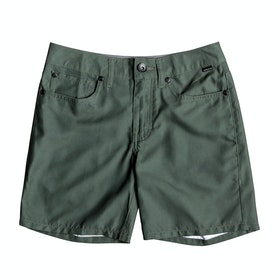 Quiksilver Nelson Surfwash 15in Boys Boardshorts - Thyme