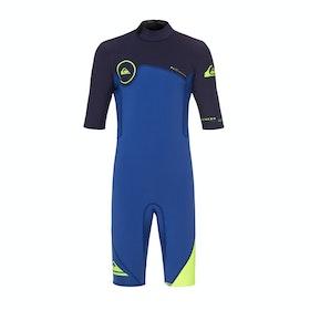 Combinaison de Surf Quiksilver Syncro Series Shorty - Nite Blue Blue Ribbon