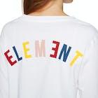 Element Rainbow Crop Ladies Long Sleeve T-Shirt