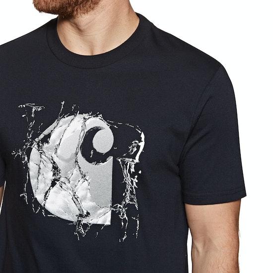 T-Shirt de Manga Curta Carhartt Broken Glass