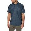 Patagonia Back Step Short Sleeve Shirt - Stone Blue