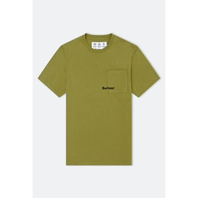 Barbour Made For Japan Abbey S S T-Shirt - Pine Green