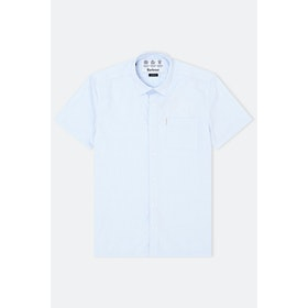Barbour Made For Japan Coniston S S Shirt - Pale Blue