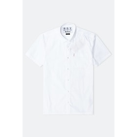 Barbour Made For Japan Coniston S S Shirt - White