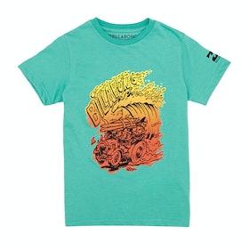 Billabong Europe Short Sleeve Boys Surf T-Shirt - Mint