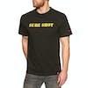 Girl Beastie Boys Sure Shot Type Short Sleeve T-Shirt - Black