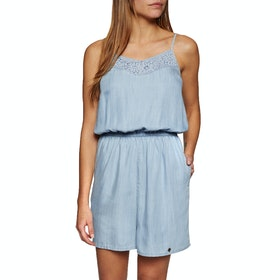Superdry Tess Playsuit - Vacation Blue