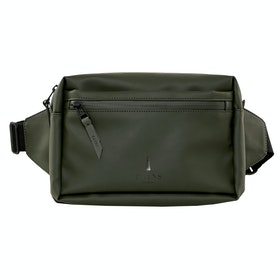 Rains Waist Bum Bag - Green