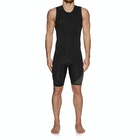 Quiksilver 2mm Syncro Series Back Zip Short John Wetsuit