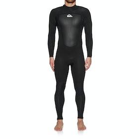 Combinaison de Surf Quiksilver 3/2mm Prologue Back Zip - Black