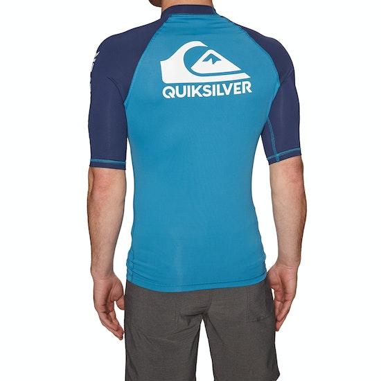 Quiksilver On Tour Short Sleeve UPF 50 Rash Vest