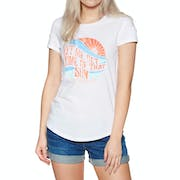 O'Neill Let Me Get Graphic Ladies Short Sleeve T-Shirt