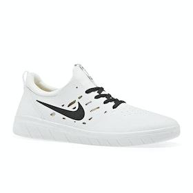 Chaussures Nike SB Nyjah Free - Summit White Anthracite Lemon Wash