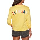 Element Rainbow Crop Ladies Long Sleeve T-Shirt