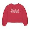 Sweater Criança Billabong Full Bloom - Sunset Red