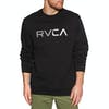 RVCA Blinded Crew Sweater - Black