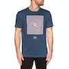 RVCA Mind Warp Short Sleeve T-Shirt - Seattle Blue