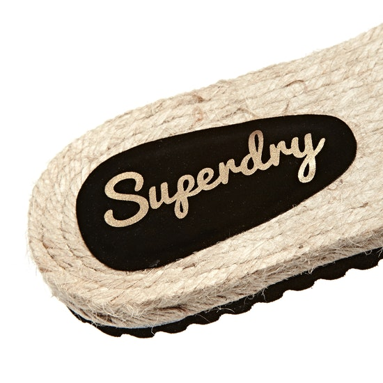 Superdry Macrame Espadrille Sliders