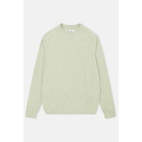Barbour Made For Japan Tobin Sweatshirt - Pale Green Marl