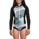 Roxy 1mm POP Surf Long Sleeve Front Zip Bikini Cut Shorty Girls Wetsuit