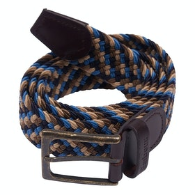 Barbour Ford Web Belt - Blue Navy Stone