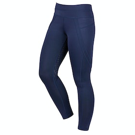 Dublin Performance Active Ladies Riding Tights - Navy