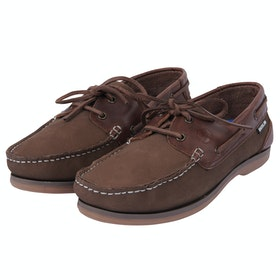 Dublin Broadfield Arena Ladies Trainers - Brown