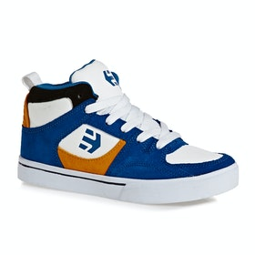 Chaussures Enfant Etnies Harrison HT - Royal Orange White