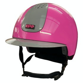 KEP Keppy Childrens Riding Hat - Pink Grey