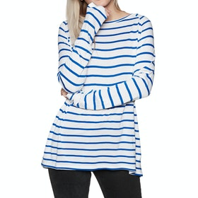 SWELL Sandi Long Sleeve T-Shirt - Blue Stripe