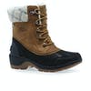 Sorel Whistler Mid Womens Boots - Camelbrown, Black